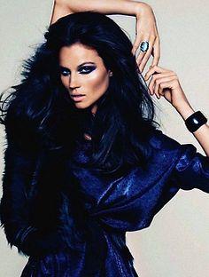 black and navy on pinterest navy hair midnight blue