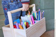 pour mes jolis mômes, mais pas que... Crayon Storage, Babysitting, Baby Love, Diy For Kids, Montessori, Kids Room, Nursery, Organization, Children