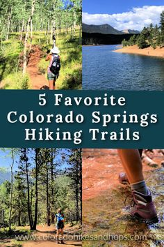 5 Fun Colorado Springs Hikes You Can't Miss — Colorado Hikes and Hops Family Road Trips, Family Vacations, Vacation Trips, Family Travel, Colorado Springs Hikes, Colorado Hiking, Visit Colorado, Hiking Photography, Best Hikes