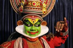 A Kathakali dancer that I photographed whilst in Kerala, India.