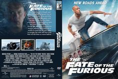 The Fate Of The Furious (2017) DVD Custom Cover