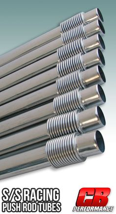 1567 Racing Push Rod Tubes - Stainless Steel (set of Vw Performance, Vw Parts, Drop Spindle, Oil Control, Cylinder Head, Dune, Engine, Arm, Racing