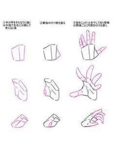 Drawing tip for Hands • PRO TIP •