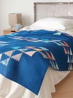 Catch a wave and discover easy quilting projects perfect for summer.