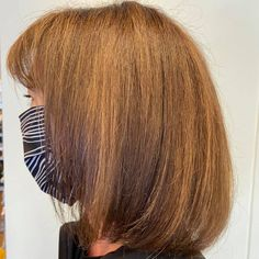 Our client is masked up and ready for the weekend with her new color + cut by Maria! Aveda Spa, Aveda Salon, Aveda Hair Color, Salon Services, Body Wraps, Spa Gifts, Manicure And Pedicure, Eyelash Extensions, Cut And Color