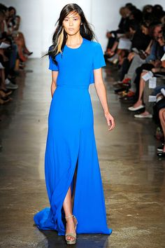Peter Som SS12 from style.com - bold summer colour blocking