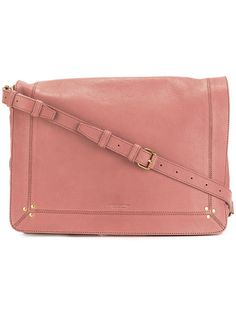 JÉRÔME DREYFUSS Albert shoulder bag. #jérômedreyfuss #bags #shoulder bags #leather #