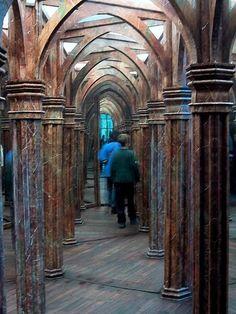 Mirror Maze In Prague, Prague, Czech Republic. One of the true old mirror mazes, not the modern variations. Bucket list.
