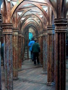 Mirror Maze In Prague, Prague, Czech Republic. One of the true old mirror mazes, not the modern variations. Bucket list.