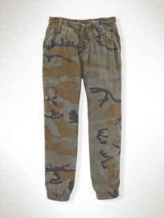 Camo Pull-On Pant - Girls 2-6X Pants, Leggings & Shorts - RalphLauren.com STYLE NUMBER : 58291306