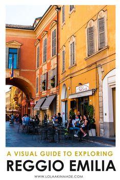 Reggio Emilia in 55 Pictures - Travel tips - Travel tour - travel ideas Italy Travel Tips, Slow Travel, Travel Destinations, Reggio Emilia Italy, European Travel, European Tour, Travel Couple, Luxury Travel, Travel Guides