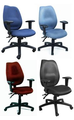 Boss B1002 - Commercial Grade Fabric Task Chairs $172.63