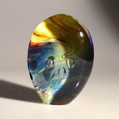 Native Stone - Murano Glass Sculptures Abstract