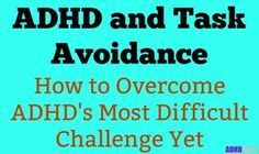 ADHD and task avoidance: http://adhdboss.com/adhd-task-avoidance/ This is how you stop avoiding tasks, and start taking control of your life. #ADHD #ADD