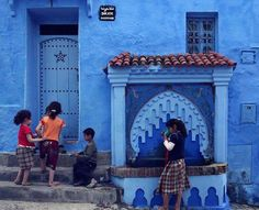 Chefchaouen Painting, Art, Art Background, Painting Art, Kunst, Paintings, Performing Arts, Painted Canvas, Drawings