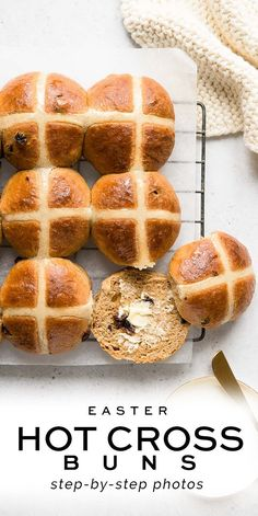 Hot Cross Buns Recipe with Step-by-Step Photos | Eat, Little Bird