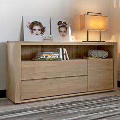 Ethnicraft NV - Oak Shadow Dresser - Lekker Home - 2
