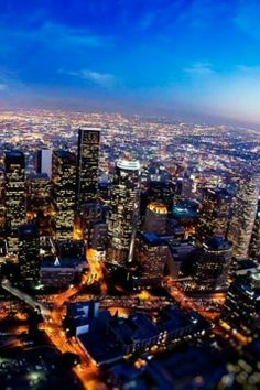 From the heavens above to the streets below #DTLA is truly one unique location to dwell. #Blessed #CityScape #Highrise