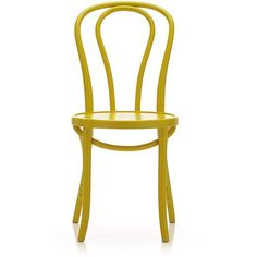 Crate U0026 Barrel Vienna Yellow Side Chair