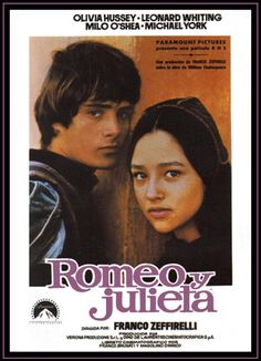 Olivia Hussey and Leonard Whiting in Romeo and Juliet Leonard Whiting, Olivia Hussey, William Shakespeare, Bob Gunton, Romeo Montague, Juliet Movie, Juliet Capulet, Romeo Und Julia, Romeo Y Julieta