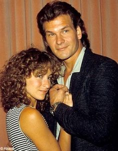 .CASTMATES JENNIFER GREY AND PATRICK SWAYZE