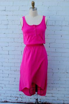 Hi-Lo Spring dress, handmade in Uganda. $73 on Ethical Ocean. #madeinafrica