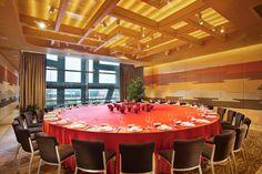 Jumeirah Himalayas Hotel, Shanghai - Meeting Room Round Table Set Up