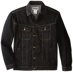 SALE PRICE - $31.9 - Wrangler Men's Big & Tall Unlined Denim Jacket