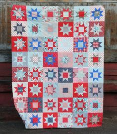 fourth of july quilt block