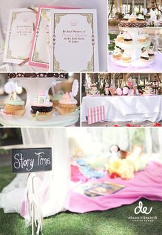 This is very similar to how my sweet first daughter's third birthday is going to be! She will be a very loved baby girl.