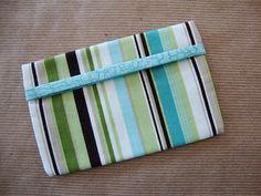 TRAVEL #TISSUECOVER Tissue Case by Phyllis Pharis  #handmade #etsyseller #etsy #quiltsyteam