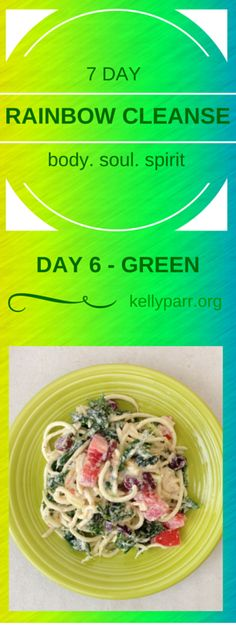 Green symbolizes…Growth, new beginnings, healing & rest. Our Rainbow Cleanse Day 6, welcomes you to new beginnings as you pursue to reclaim your health – from a posture of rest. There is no better time than the present, so let's explore! #cleanse, #eatclean, #cleaneating, #detox, #recipe, #rainbow, #7Day