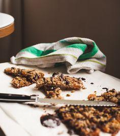 Homemade Granola Bars Photo
