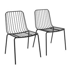 Hashtag Home Bourquin Wire Dining Chair & Reviews | Wayfair.ca
