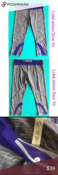EUC LuluLemon Size 10 Legging Size 10. EUC no pilling or fading. Size tag in tact. Look brand new. lululemon athletica Pants Leggings