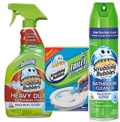 BOGO FREE Scrubbing Bubbles Bath Cleaning Products Coupon on http://hunt4freebies.com/coupons