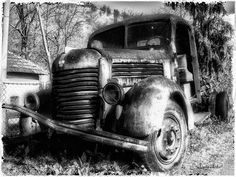 """TAM Truck"" by Marko Mitic, Toronto // TAM Truck Black and White Photograph // Imagekind.com -- Buy stunning, museum-quality fine art prints, framed prints, and canvas prints directly from independent working artists and photographers."