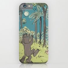where the wild things are.. max's jungle.. phone case, iphone, galaxy.. by studiomarshallgifts on Etsy