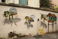 3d Street Art, Street Art Utopia, Best Street Art, Murals Street Art, Amazing Street Art, Street Art Graffiti, Street Artists, Banksy, Street Installation