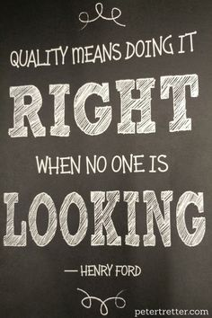 #quality #quote #henryford