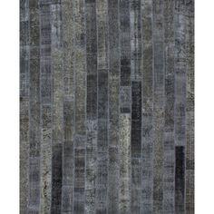 "Second Life - Patchwork - Grey (8'1"" x 9'11"")"