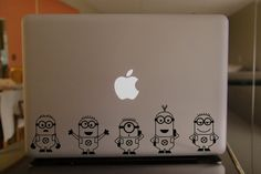Despicable Me01-Macbook Cover Protector Decal Laptop Art Sticker Skin for Apple Laptop Macbook Pro/ Macbook Air