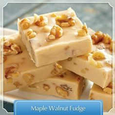 MAPLE walnut Fudge!!