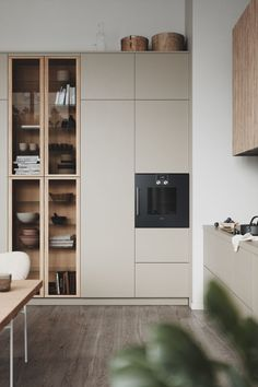 Modern Kitchen Design, Modern Interior Design, Küchen Design, House Design, Cuisines Design, Decorating Small Spaces, Fall Decorating, Minimalist Home, Kitchen Interior