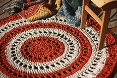 Ravelry: Coalvalleyview's Flynn's Mandala Rug ~ pattern by Marinke Slump