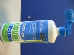 Natural Chemistry Spray-On Cleaner is a natural, environmentally safe cleaner.  Works great on cleaning pool and spa covers...reduces scrubbing and extends the life of your cover!  Also, great for cleaning decks, vinyl siding, fencing, grills, patio furniture, etc.  Simple...just spray on, allow to soak and hose off.