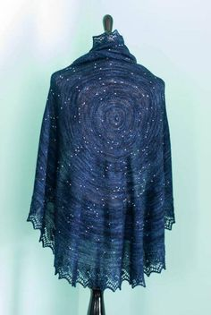 This Beautiful Shawl Is A Northern Hemisphere Star Map #scarf #space
