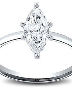 406-Carat-Marquise-Cut-Solitaire-Diamond-Engagement-Ring-Gia-Certified-In-14K-White-Gold-0