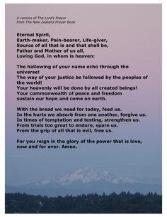 New Lord's Prayer Have a look at the Immanuel Prayer Wheel - Maranatha Prayer Community today and assemble with others in praying for our God's speedy return, as well as pray for your needs, as well as numerous other things. Click below for more info!