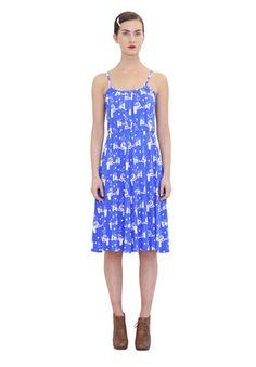 Eleonoora dress. Shop: http://shop.ivanahelsinki.com/collections/moomin-by-ivana-helsinki/products/eleonoora